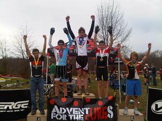 15-18 podium