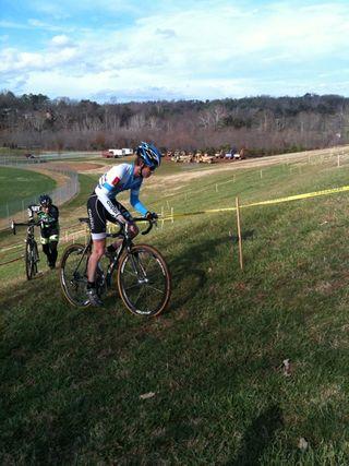 TST ride up hill
